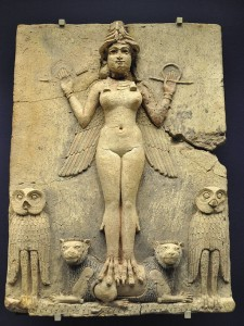 Mercedes Kirkel, channel for MARY MAGDALENE - Page 2 Burney_Relief_Babylon-Ishtar-or-Ereshkigal_By-Aiwok-225x300