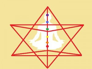 Merkaba Meditation By PhilAuckland, CC-BY-SA-3.0, via Wikimedia Commons