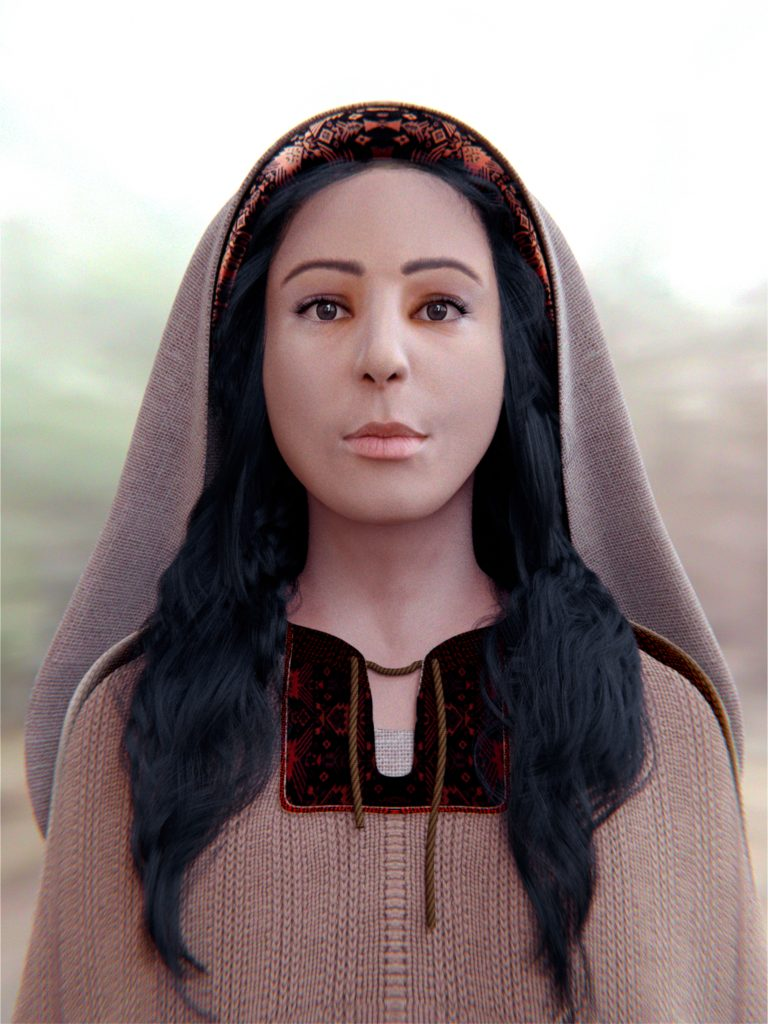 Saint_Mary_Magdalene_-_Digital_facial_reconstruction by Cicero Moraes
